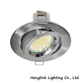 Die-Cast Aluminum Adjustable GU10 Downlight Frame