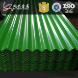 China Villa Colored Corrugated Roofing Sheet
