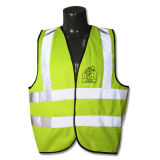 Ce En471 Reflective Strips High Visibility Traffic Safety Vest (YKY2820)