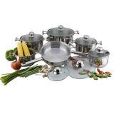 Stainless Steel Cookware Set Cooking Pot Casserole Frying Pan S110