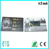 4.3 Inch LCD Video Greeting Card