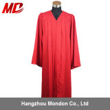 Wholesale High Quality Adult Red Graduation Gown