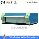 Double Rollers Laundry Steam/Electrical Heated Ironer Machine CE & SGS