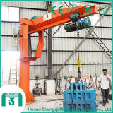 Industry Application Bz Type Pillar Mounted Jib Crane