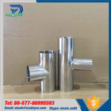 Hygienic Stainless Steel 316 Equal Tee Pipe Fittings