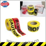 High Quality Colourful Road Security PE/OPP Caution Tape