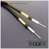 High Quality 50ohm Coaxial Cable (RG58-DUAL)