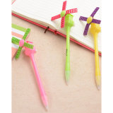 Creative Promotional Novel Plastic Small Windmill Ballpoint Pen