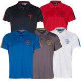Wholesale Personalized Dry Fit Sports Polo Shirts Blue (A294)