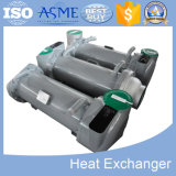 Professional Finned Oil Spiral Heat Exchanger with Ce, ASME