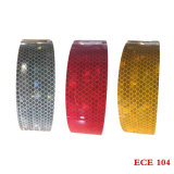 White Color ECE 104 Approval Conspicuity Marking Reflective Tape for Vehicle
