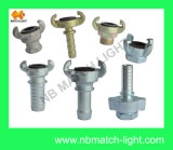 High Quallity Steel Chicago Type Air Hose Fitting (blank end)