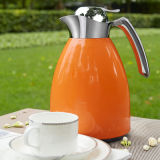 Stainless Steel Vacuum Coffee Pot/Kettle with Glass Refill