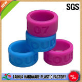 Custom Bulk Cheap Silicone Thumb Ring with Debossed (TH-6154)