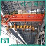 Electromagnetic Bridge Crane with Carrier Beam (suspended beam parallel to main girder)