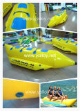 Inflatable Banana Boat for 3 Person Using