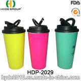 Wholesale Insulated Double Wall Portable Plastic Coffee Mug (HDP-2029)