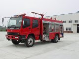 Isuzu 4*2 8 Cbm Water Fire Fighting Truck