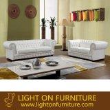 Modern European Chesterfield Leather Sofa (L044)