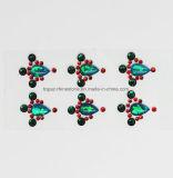 Swaro Emerald Green Forhead Epoxy Crystal Rhinestone Sticker (S035)