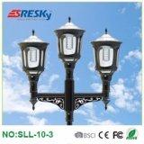 Hot Sale LED Outdoor Lighting with Motion Sensor Solar Garden Light Pillar Landscape Light European Style