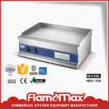 Heg-350 Steel Electric Griddle with CE RoHS Certificate Factory Supplier