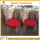 2017 New Design Beautiful Plastic Clear Chiavari Chair
