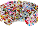 Custom Various PVC Children Cartoon Adhesive Decals Sticker
