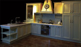 Kitchen Furniture Luxurious Solid Wood Kitchen Cabinet