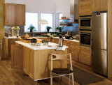 American Style Traditional Solid Wood Kitchen Cabinet Design