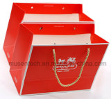 Grossy Laminated Stamping Luxury Paper Gift Bags for Apprael/Shopping