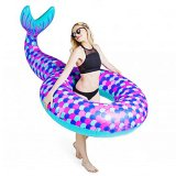 New Water Air Inflatable Fish Toy Floating Swim Ring