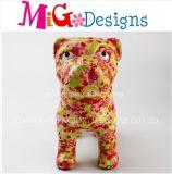 Wholesale Dog Ceramics Bloom Print Money Box