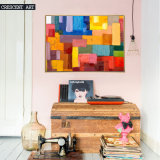 Colorful Abstract Wall Art on Prints
