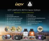 2016 New First Batch Ijoy Limitless Rdta Classic Edition Atomizer in Stock Wholesale