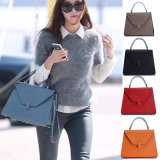 2017 New Inclined Shoulder Bag Leather Handbag (3263)