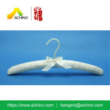 Satin Padded Clothes Hanger with Hook (APH104)