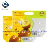 Top Print Ziplock Laminated Fruit Packing Bag with Hand Hole