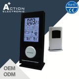 Digital Indoor Outdoor Thermometer Clock with Wireless Remote Sensor