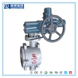 Quanshun Wafer Type Semi Ball Valve for Molten Salt Dissolving System