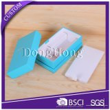 Matte Finish Hard Paper Mobile Phone Box Packaging Custom