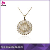 2016 Hot Sale Gold Plated Women Necklace Dubai Gold Jewelry