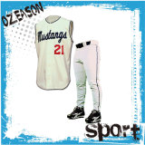 Professional OEM Baseball Player Wear Sleeveless Baseball Jersey Pants (B020)