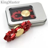 Aluminum Red Fire Design Metal Hand Spinners Latest Fidget Spinners