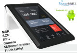 7 Inch 3G Handheld Android POS System with Thermal Printer