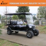Hot Selling and New Design Electric Vehicle 6 Seater Electric Golf Cart with Ce Certificate