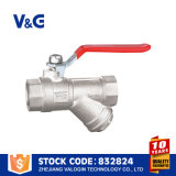 Valogin Yuhuan Best Brass Ball Valve with Union Angle Fxm