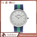 Green Customized Logo Quartz Wrist Stainless Steel Watch