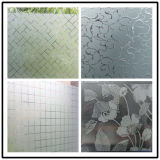 4-12mm Frosted Acid Etched Decorative Art Glass for Buliding