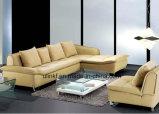 Living Room Furniture Modern Corner Leather Sofa (UL-NS457)